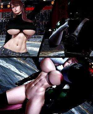 Female Fighter vs monster #2 (honey select#66)