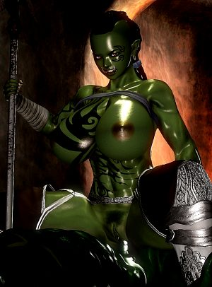 Female Orc #1 (honey select#78)