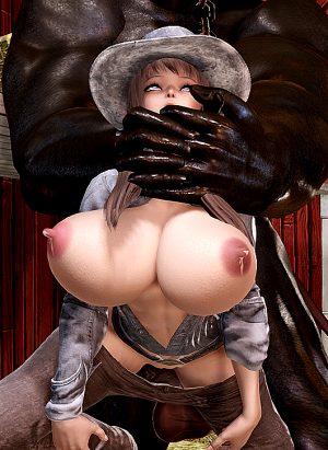 Female sheriff #3 (honey select#78)