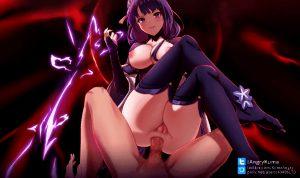 Genshin Impact – Raiden Baal (angrykuma)