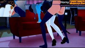 Genshin Impact – Venti(Female) let Femboy play with her body (No penetration)