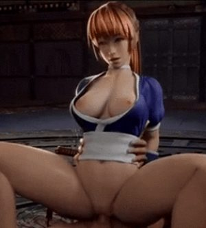 Kasumi love to be treated like a cum dumpster