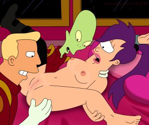 LEELA GETS KIFFED AND ZAPPED