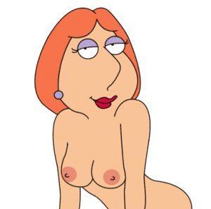Lois' jiggling boobs