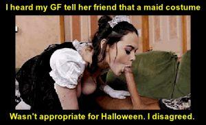 Maid are really Hot around Halloween