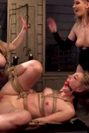 Maitresse Madeline And Aiden Starr Haze Domme And Fuck Mona Wales