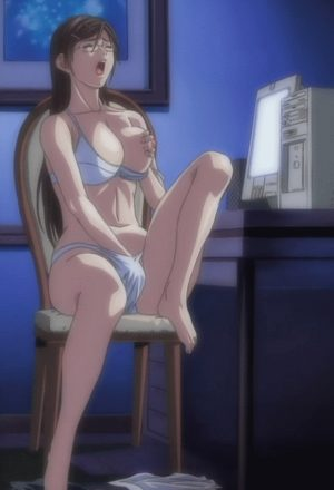 mom is pleasuring herself while watching porn on sex.com