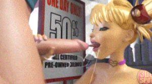 Mrs Doe mouthwatering bj