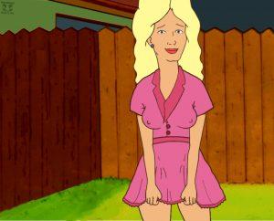Nancy flashes, Bobby jerks off