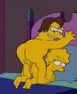 Nelson ass fucking Lisa Simpson