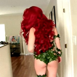 Poison Ivy great cosplay