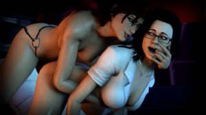 Shepard shows Miranda who the alpha woman aboard the SR2 Normandy is