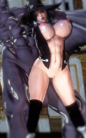 Vampire Hunter # 5(honey select #88)